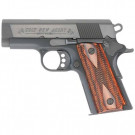 "Colt New Agent Semi Auto Handgun .45 ACP 3"" Alloy 7 Rounds Double Diamond Slim Fit Grips Anodized Finish 07810D"