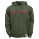 Mathews Lost Camo Appl. Duet Vintage Washed Hooded 1/4 Zip Military Green